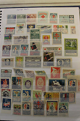* BETTER WORLDWIDE COLLECTION OF 311 poster stamps / revenues / cinderellas