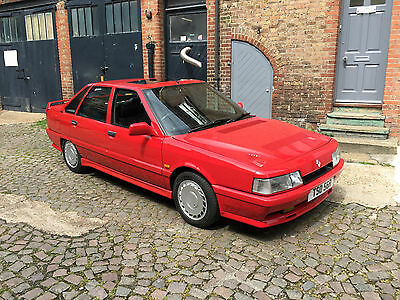 1988 Renault 21 Turbo Red Phase 1