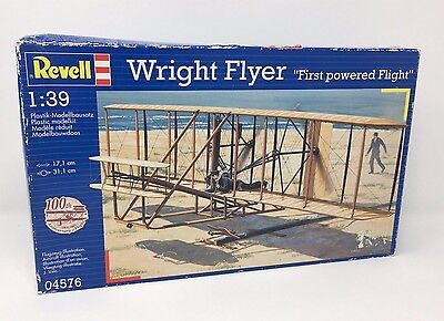 Maquette WRIGHT FLYER Revell First powered Flight Model 1:39