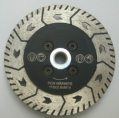 "4.5"" 115mm professional diamond blade, disc for cutting, grinding granite,marble"
