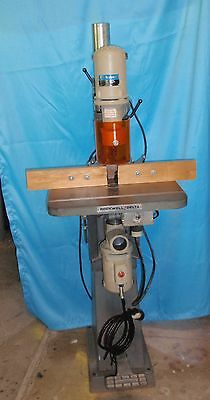 ** Rockwell/Delta Dual Motor , Overarm Pin Router/Shaper Wood Working Machine **