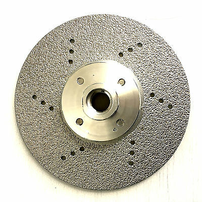 115mm  Premium ALL STONE Vacuum Brazed Vanity Blade, Disc For Cutting, Grinding