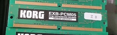 KORG EXB-PCM-05 Vintage Archives Synthesizer Expansion Board Effects Card