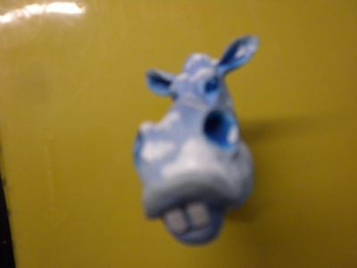 $ Laughing Cow Magnet. Blue Color. Profits Goes To Our Animal Rescue Program.