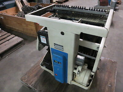General Electric AK-2A-50 1600A Motor Operated Power Circuit Breaker GE 2 1600 A