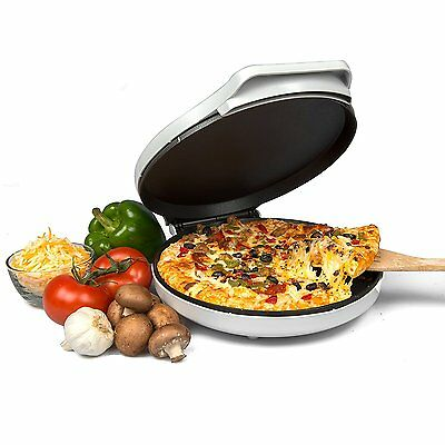 Pizza Maker Electric Nutrichef Oven Pizza Machine Pizza Everyday Baker White
