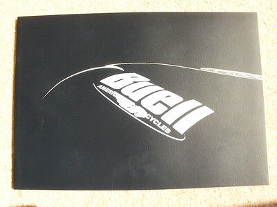 Genuine original Buell 2001 range brochure X1 Lightning M2 Cyclone