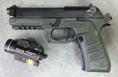Recover Tactical BC2 Beretta 92 M9 Grips & Rail System OD Green
