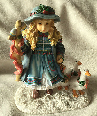 Beautiful Goose Girl  Christine Haworth Leonardo Collection Great Detail Perfect