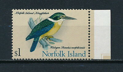 Norfolk Island 140 MNH, Kingfisher, 1970