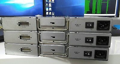 Lot of 4 Cisco Power Supply for 2821 2851 3825 Router 341-0063-04 210.45W