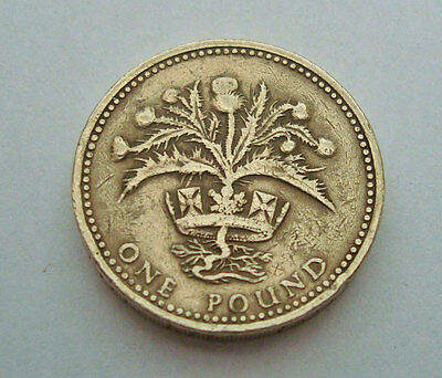 Rare British £1 pound coins Brilliant  circulated from 1983-2008 Pick ONE