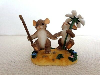 """Fitz & Floyd Charming Tails """"Together We'll Make It"""" Item : 89/201"""