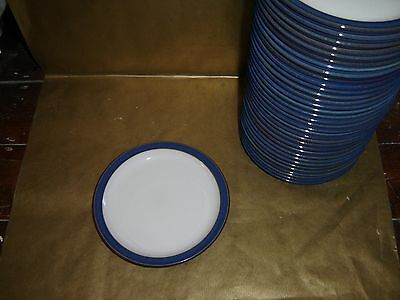 """1x denby imperial blue tea / side  plate 6.75"""" diameter (several available)"""