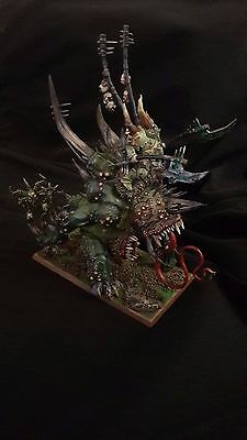 Warhammer - Orghotts Daemonspew Maggoth Lord Of Nurgle Pro Painted