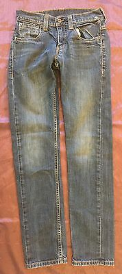 Levi's Strauss Co. 511 Boys or Girls Super Skinny Blue Denim Jeans Size 28x30