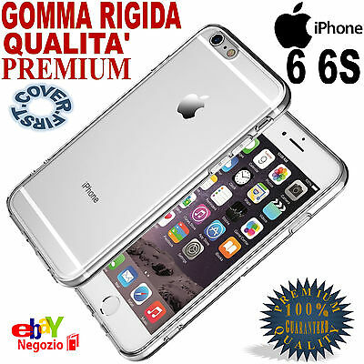CUSTODIA COVER TPU GOMMA RIGIDA ULTRA SLIM per APPLE iPhone 6 6S Qualità PREMIUM