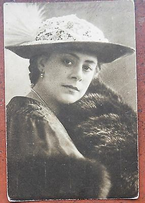 Vintage postcard of Danish actress Betty Nansen