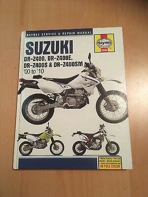 suzuki drz 400 haynes servise &repair manual