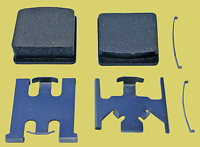Yamaha RD125DX front brake pads (1978-1981) RS125DX (1981)