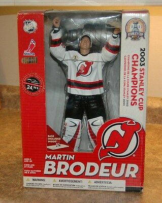 "McFarlane New Jersey Devils Martin Brodeur NHL Hockey 12 "" Action Figure"