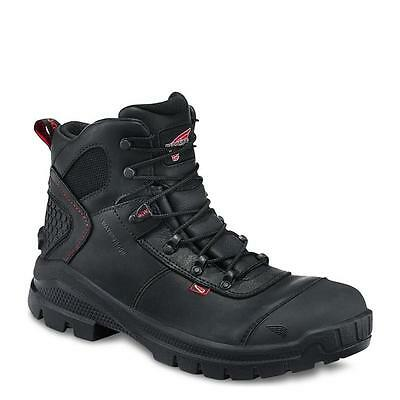Red Wing Crv Mens Black/Red Boots