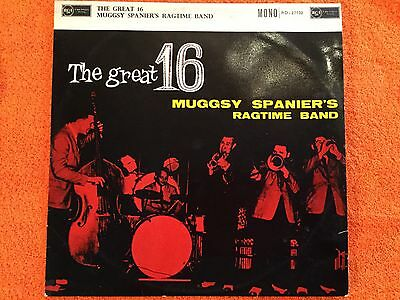 MUGGSY SPANIER'S RAGTIME BAND - The Great 16 - LP Record - VG/EX