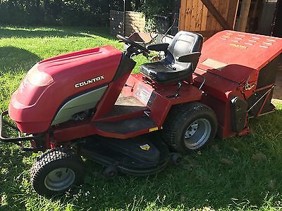 """Countax A20/50 ride on mower with 50"""" deck and grass collector"""