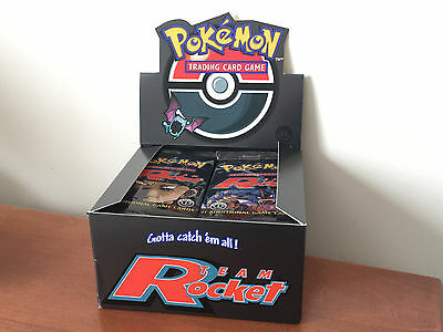 X1 Team Rocket Booster pack First Edition - Pokemon 1ST ED Cards 2000 TCG