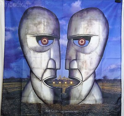 PINK FLOYD The Division Bell HUGE 4X4 BANNER poster tapestry cd album cover art