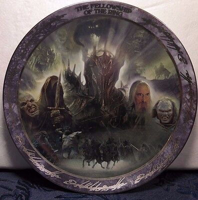 Lord Of The Rings Fellowship Of The Ring Bradford Exchange Plate Sauron Lurtz