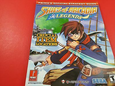 Skies of Arcadia Brady Games [Strategy Guide] (Nintendo Gamecube)
