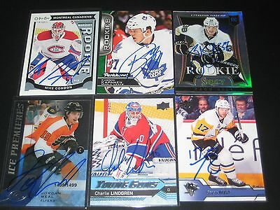 """MIKE CONDON autographed '15/16 MONTREAL CANADIENS """"O-Pee-Chee"""" rookie card"""
