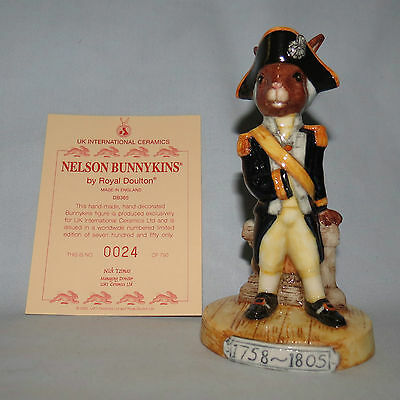 Royal Doulton Limited Edition UK made Nelson Bunnykins DB365 LE750 only