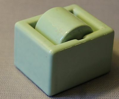 Vintage SENGBUSCH Ideal Junior Porcelain Stamp Envelope Moistener Roller USA