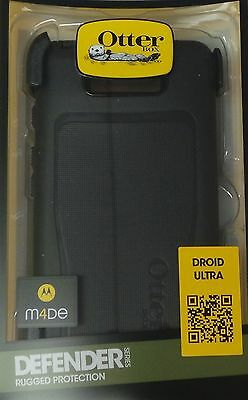 OtterBox Defender Series Case for Motorola Droid Ultra, Black