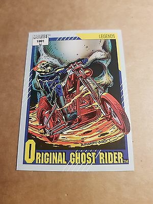 Marvel Universe 1991 Series 2 Card #142 Original Ghost Rider