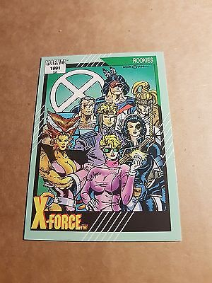 Marvel Universe 1991 Series 2 Card #148 X-Force