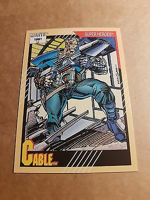 Marvel Universe 1991 Series 2 Card #15 Cable