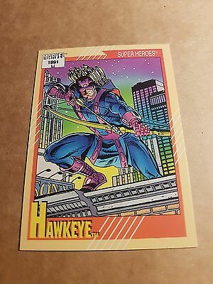 Marvel Universe 1991 Series 2 Card #20 Hawkeye