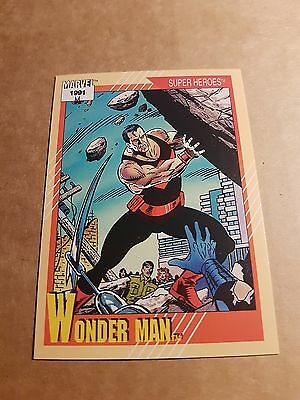 Marvel Universe 1991 Series 2 Card #30 Wonder Man