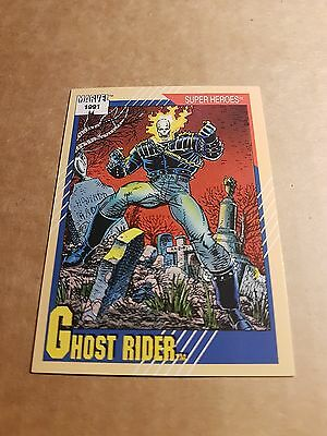 Marvel Universe 1991 Series 2 Card #39 Ghost Rider