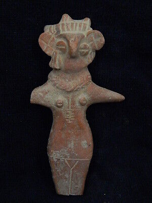 Ancient Indus Valley Teracotta Mother Goddess C.600 BC  #T6136#