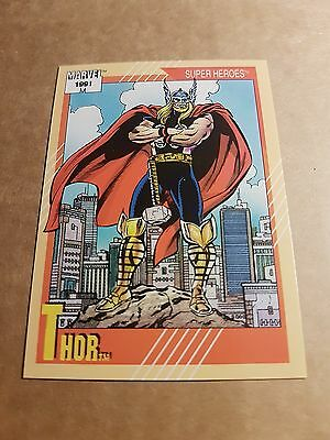 Marvel Universe 1991 Series 2 Card #48 Thor