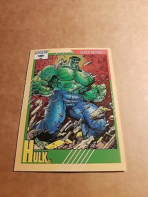 Marvel Universe 1991 Series 2 Card #53 Hulk