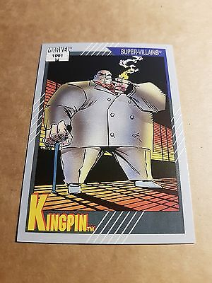 Marvel Universe 1991 Series 2 Card #55 Kingpin