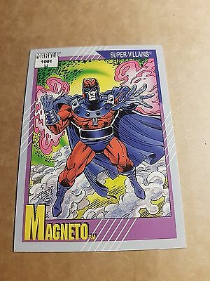 Marvel Universe 1991 Series 2 Card #57 Magneto