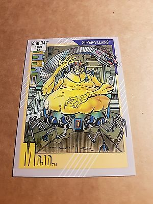 Marvel Universe 1991 Series 2 Card #64 Mojo