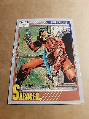 Marvel Universe 1991 Series 2 Card #77 Saracen