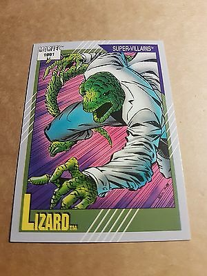 Marvel Universe 1991 Series 2 Card #87 Lizard